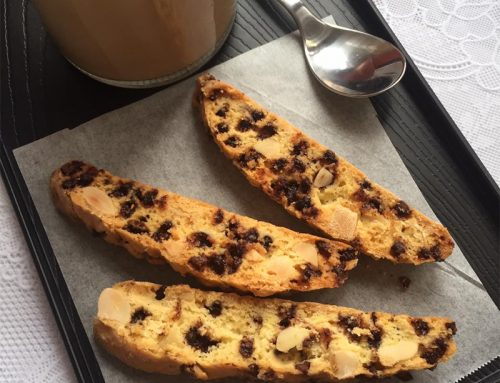 Almond Chocolate Biscotti Recipe