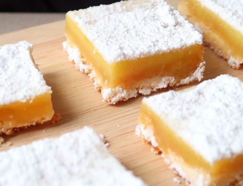 Simple Lemon Squares Recipe