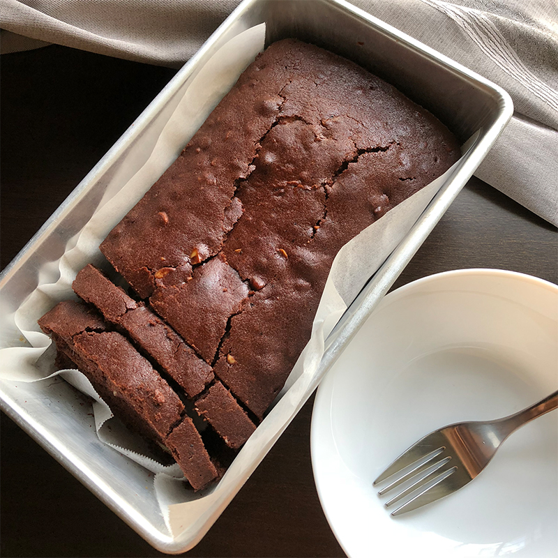 Chocolate Loaf Cake Recipe by Bakeomaniac