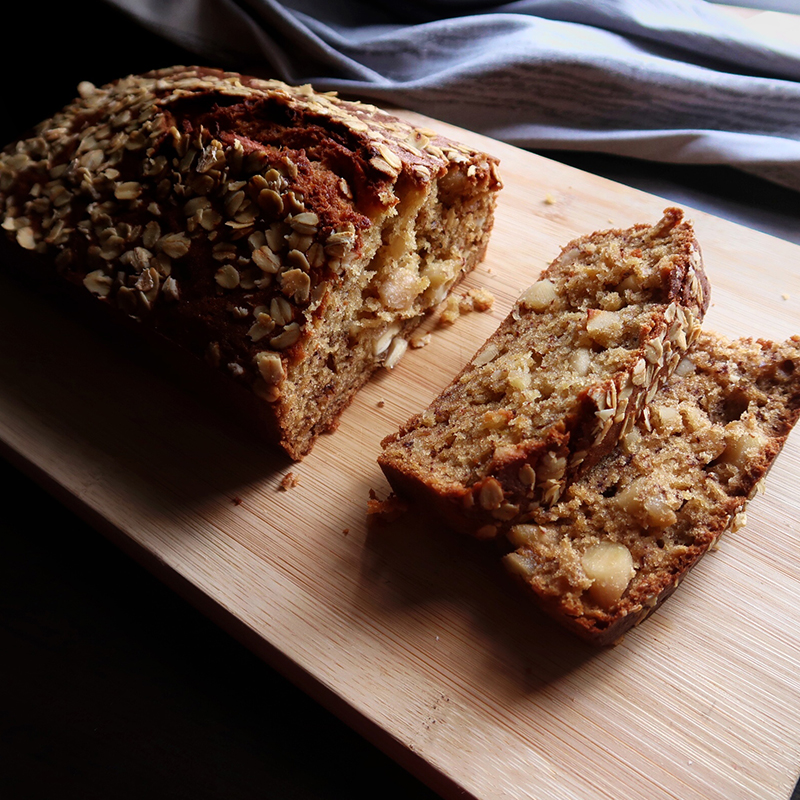 Improved Banana Bread Recipe by Bakeomaniac
