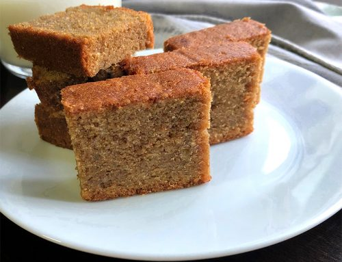 Coffee Butter Cake Recipe