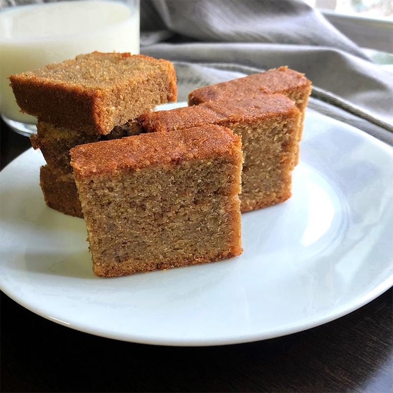 Coffee Butter Cake Recipe by Bakeomaniac