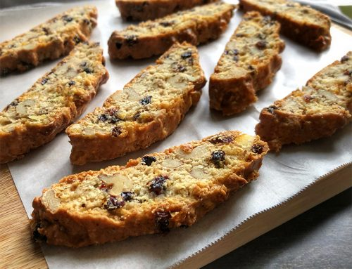 Mixed Fruits and Nuts Biscotti