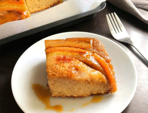 Upside Down Banana Cake Recipe