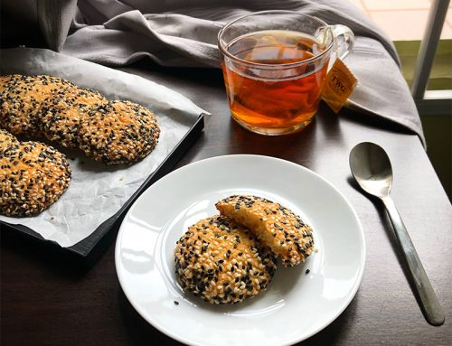 Sesame Butter Cookies Recipe
