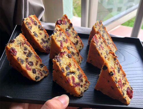 Javier's Fruit Cake Recipe