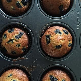 Blueberry Muffins Recipe by Bakeomaniac