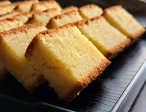 Butter Cake Recipe ( Tea Version )
