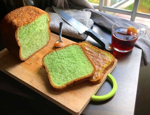Pandan Loaf (Breadmaker Recipe)
