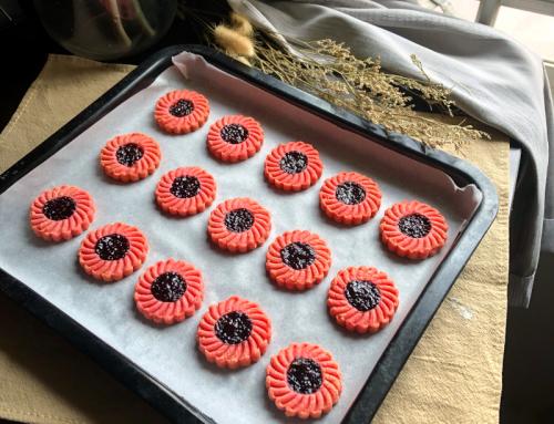Blossom Jam Cookies Recipe