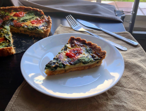 Spinach Ham Quiche Recipe
