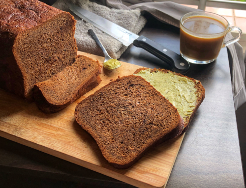 Coffee Butter Loaf (Breadmaker Recipe)