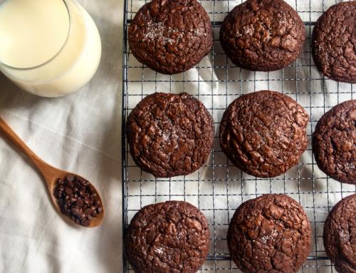 Brownie Crinkle Cookies Recipe