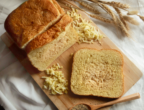 Pepper Cheese Loaf (Breadmaker Recipe)