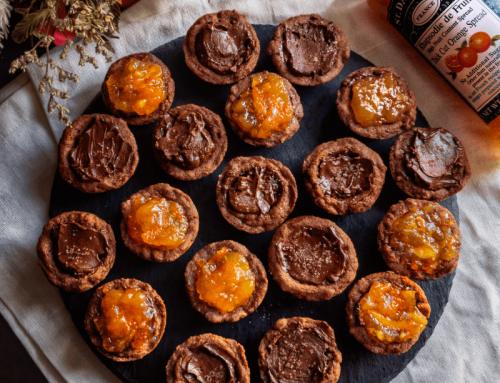 Chocolate Orange Cookie Cups Recipe