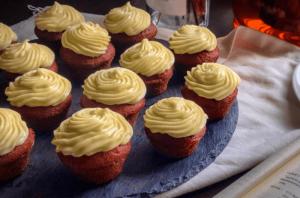 Mini Red Velvet Cupcakes Recipe