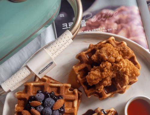 Fluffy Belgian Waffles Recipe